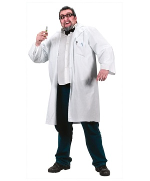 Mad Scientist plus size Adult Costume