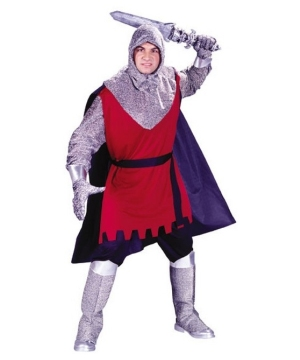 Medieval Knight Men Costume
