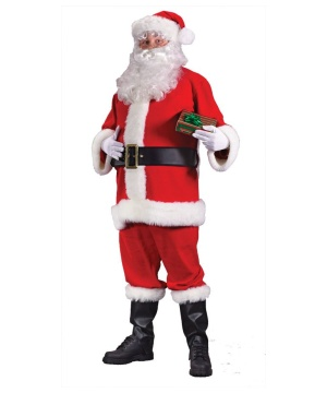 Mens Santa Suit Costume