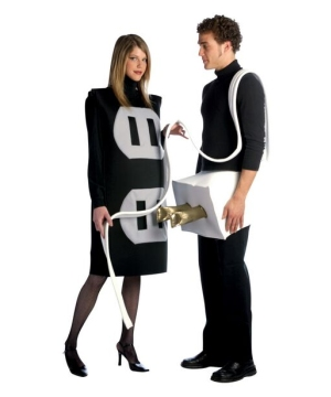 Plug and Socket Costume - Adult Costume