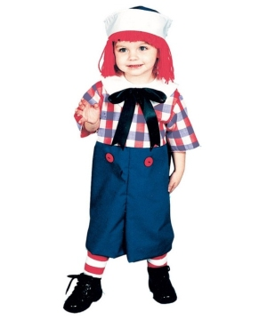 Raggedy Andy Kids Costume