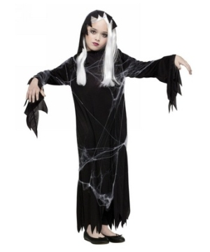 Spiderweb Gauze Ghost Kids Costume