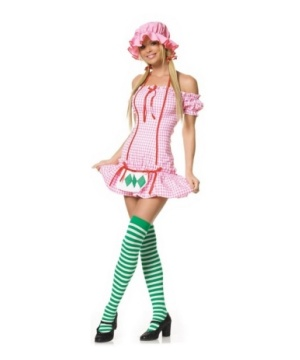 Strawberry Doll Womens Costume