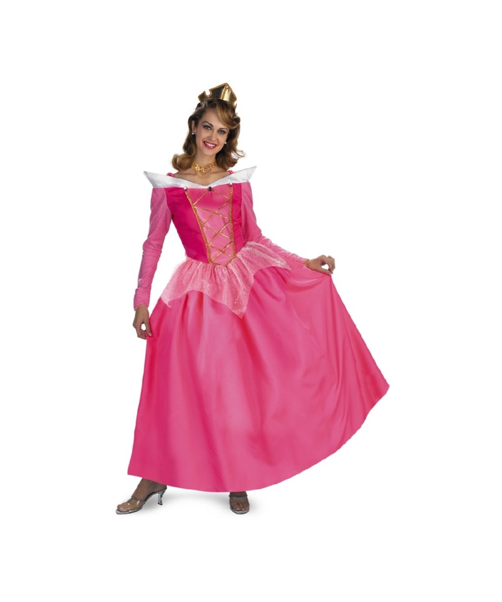 Aurora Disney Women Costume Prestige  sc 1 st  Wonder Costumes & Disney Costumes - Adult Aurora Princess Women Costume