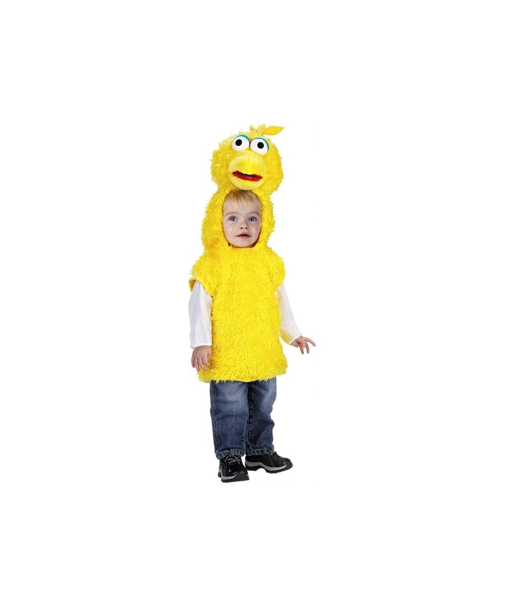 Big Bird Vest Toddler Costume