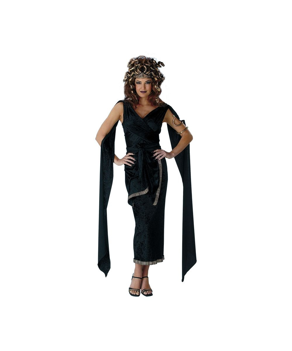 Dark Medusa Womens Costume