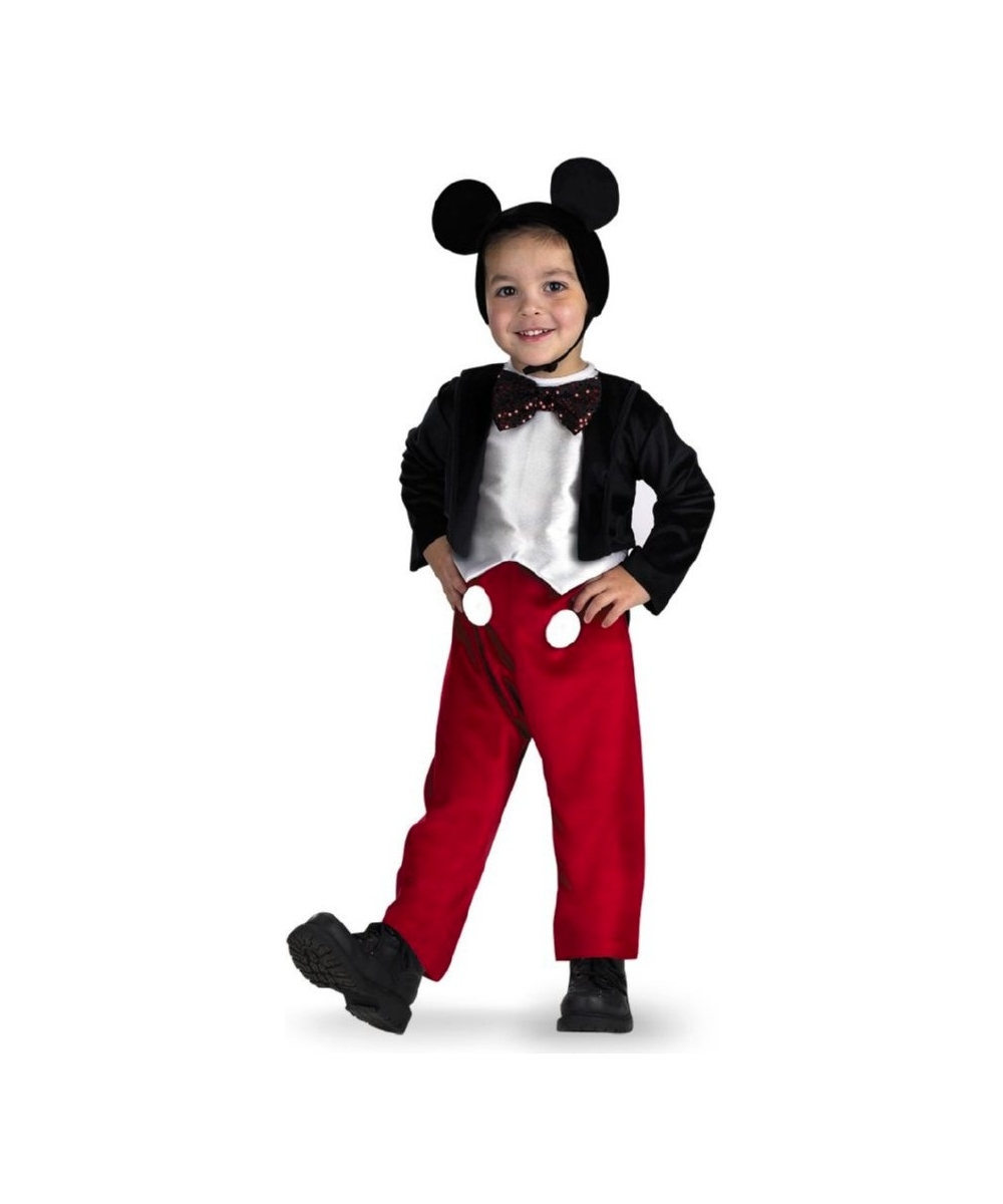 Disney Boys Mickey Mouse Costume