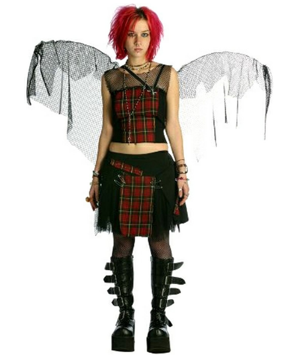 sc 1 st  Halloween Costumes & Adult Fairy Punk Costume - Women Halloween Costumes