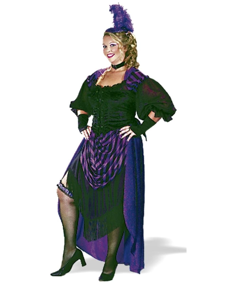 Lady Maverick Costume Plus Size - Adult Halloween Costumes