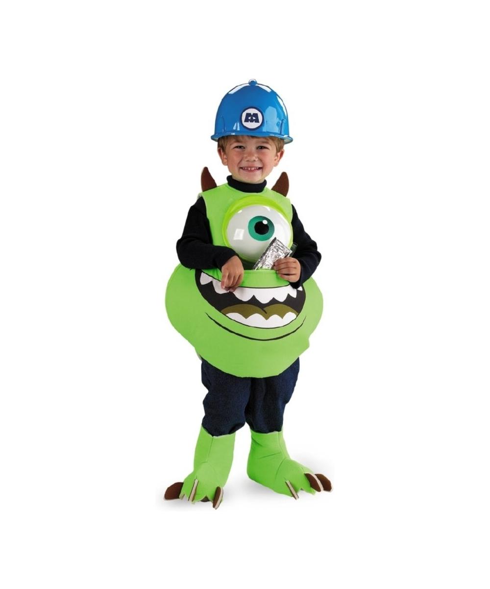 Monsters Inc Mike Wazowski Kids Disney Costume Girls Costume