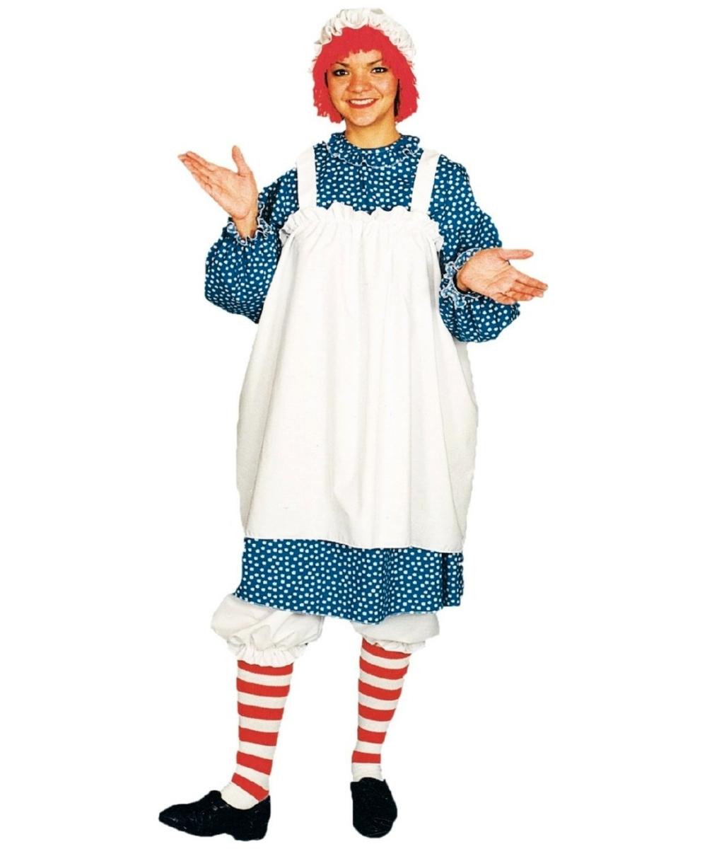 Adult costumes adult halloween costume for women men raggedy ann costume solutioingenieria Choice Image