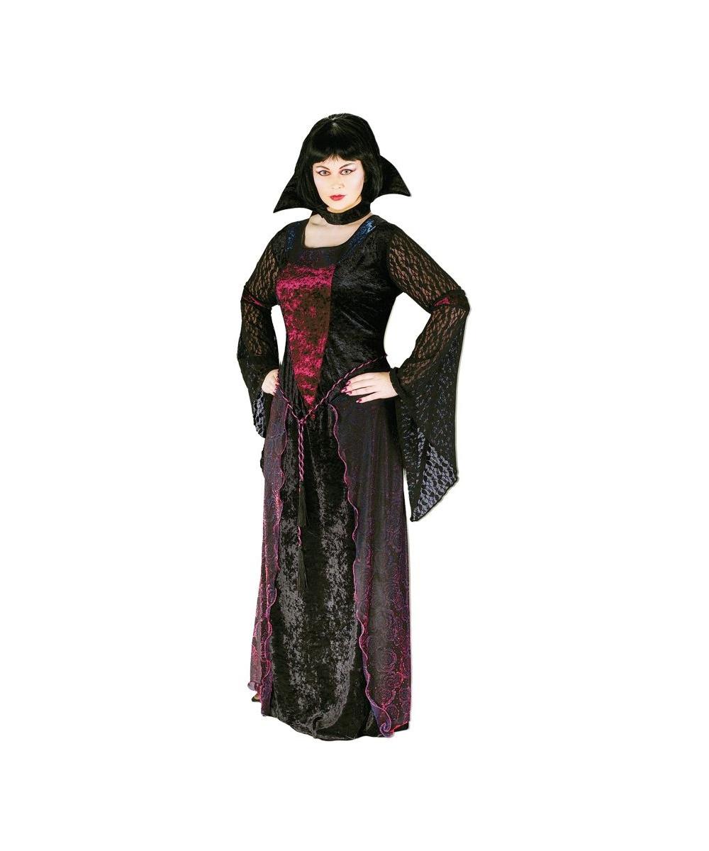 ba048c4906f Adult Vamptessa plus size Vampire Halloween Costume