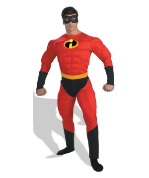 Mr Incredible Men Costume