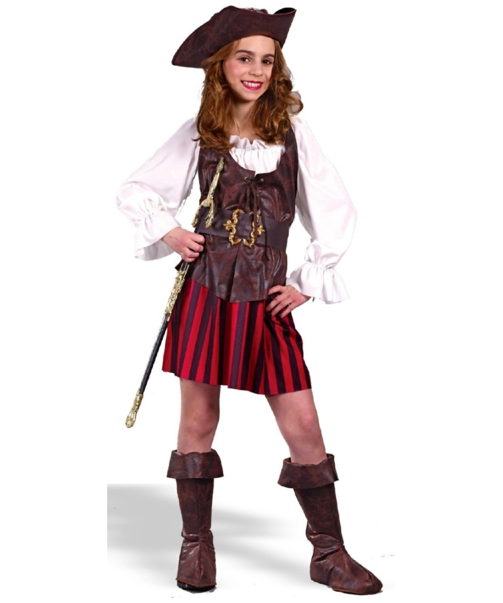 Buccaneer Pirate Girls Costume