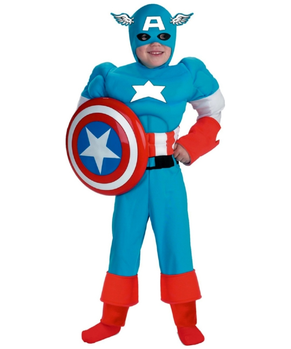 Captain America Teen Boys Costume
