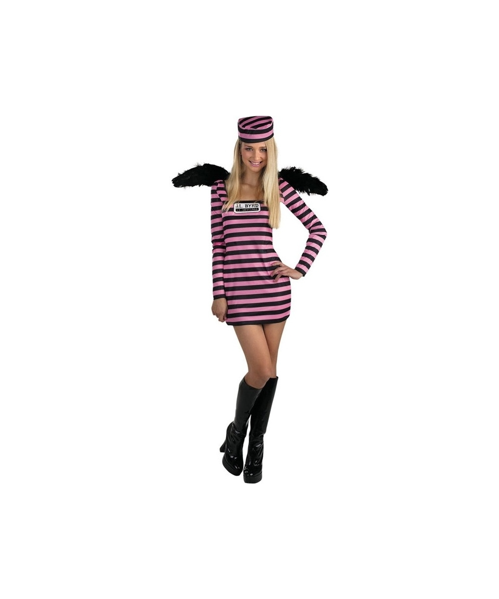 sc 1 st  Wonder Costumes & Jailbird Female Costume - Kids Halloween Costumes