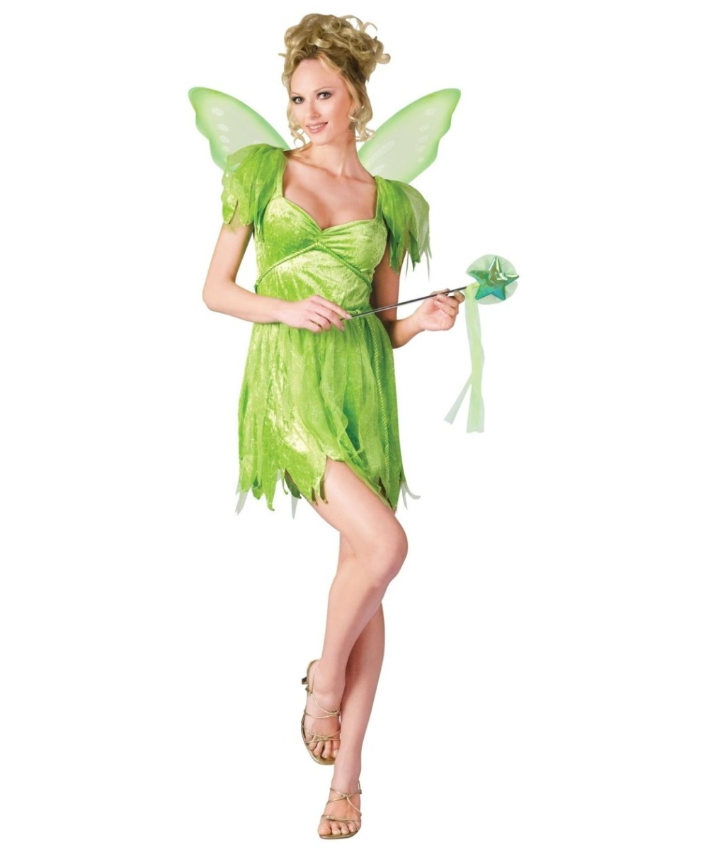 sc 1 st  Wonder Costumes & Neverland Fairy Adult Costume - Women Fairy Costumes