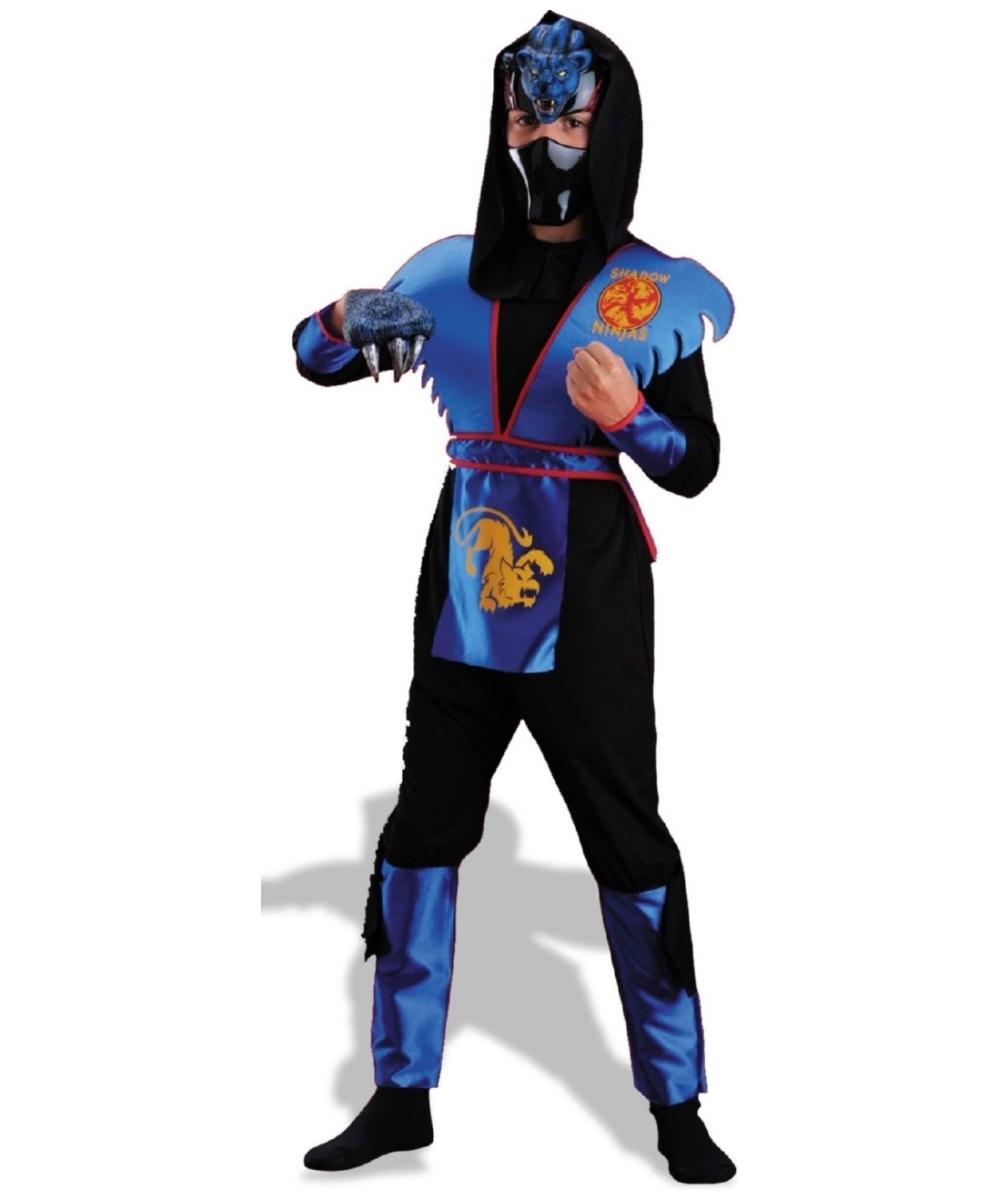 sc 1 st  Wonder Costumes & Cool Ninja Shadow Panther Boys Costume - Kids Ninja Costumes