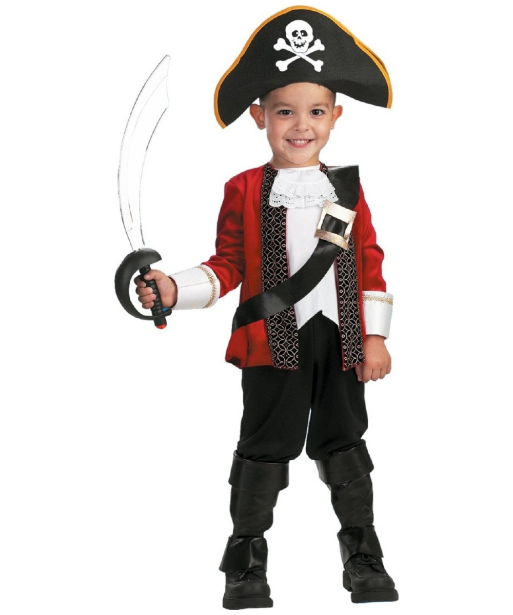 Pirate El Capitan Boys Costume
