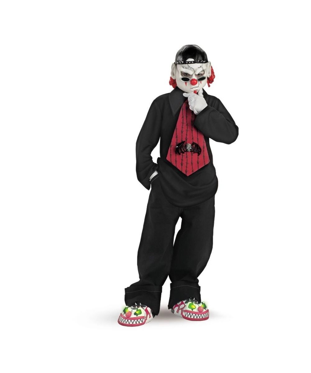 sc 1 st  Wonder Costumes & Kids Street Mime Scary Halloween Costume - Boys Costume