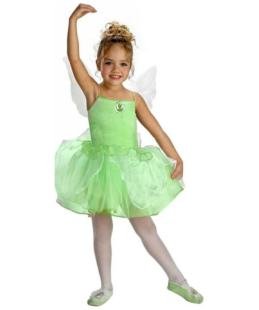 Tinkerbell Ballerina Disney Kids Costume