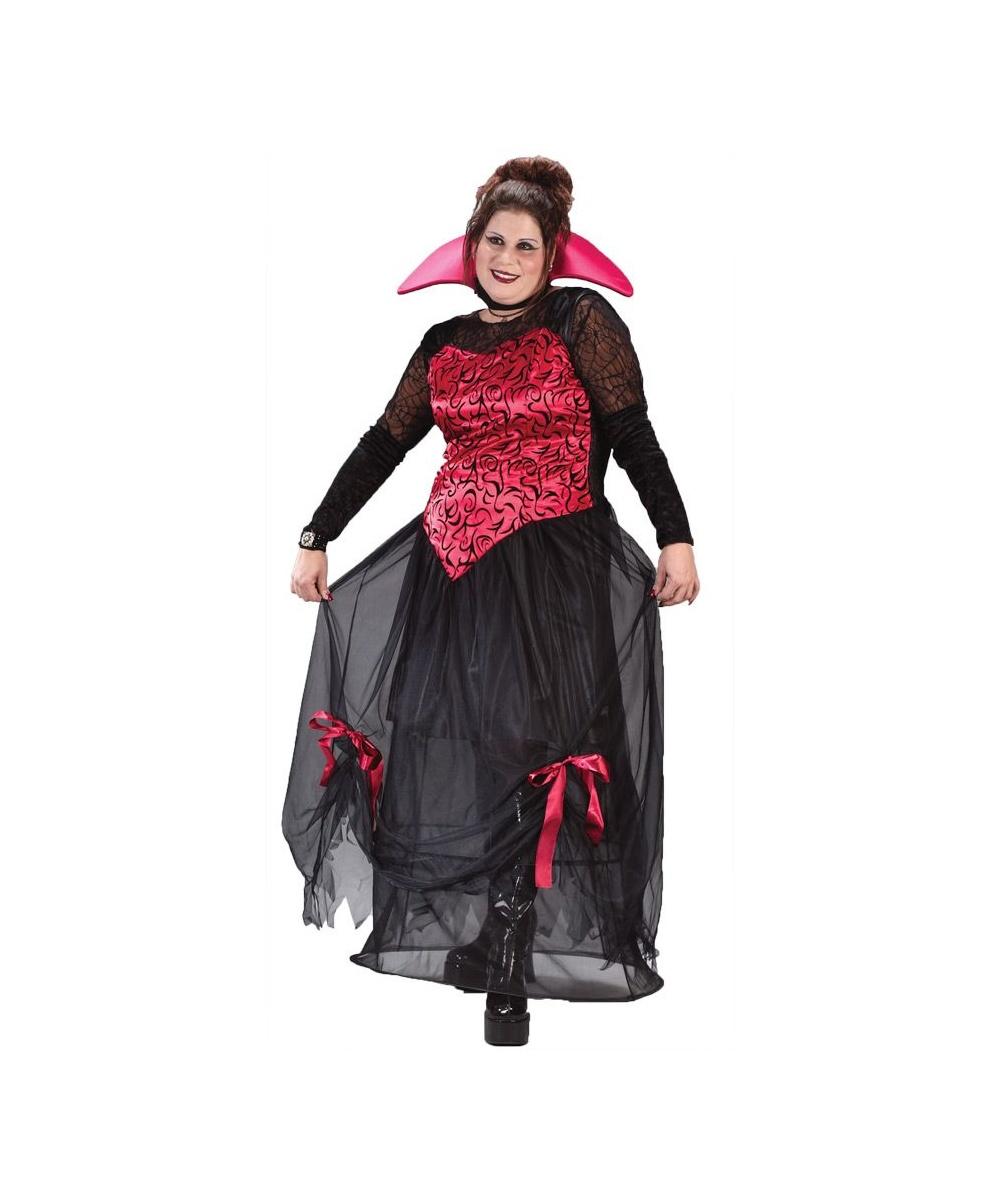 Vampire Goth Bloodstone Adult Costume Plus Size