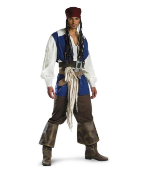 Captain Jack Pirate Men Costume