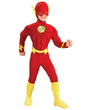 Flash Muscle Boys Costume