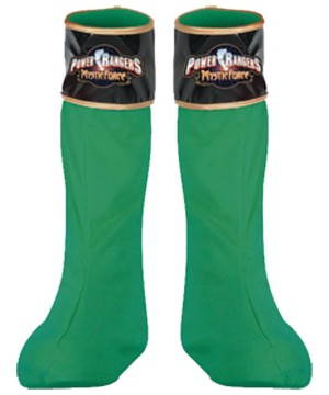 Green Ranger Boot Covers Child