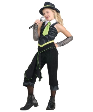 Gum Moll Girl Costume