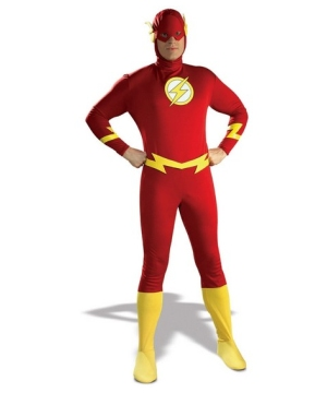 Justice League Flash Mens Costume