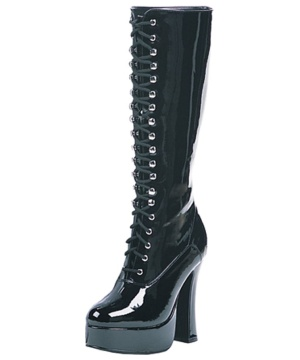 Boot Easy Lace Black - Women Shoes