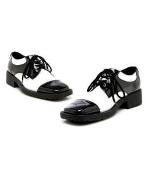 Oxford Black/white Shoes Men's
