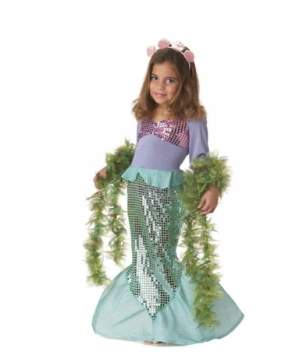 Little Mermaid Toddler Girls Costume