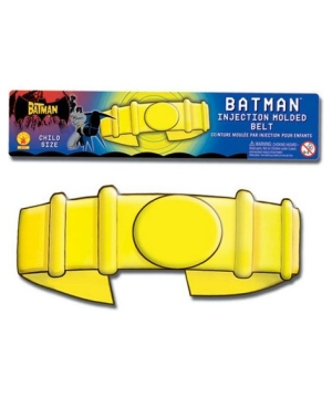 Molded Batman Belt Child Costume