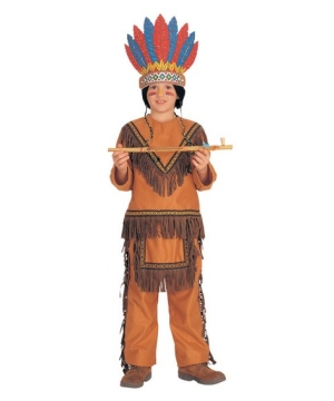 Native American Chief Boys Costume