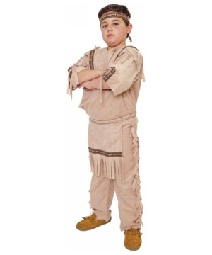 Navajo Indian Boys Costume  sc 1 st  Wonder Costumes & Indian Boy Child Costume - Kids Indian Costumes
