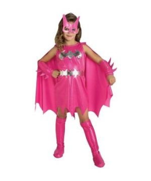 Pink Batgirl Toddler Girls Costume
