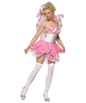 Pixie Rose Petal Womens Costume