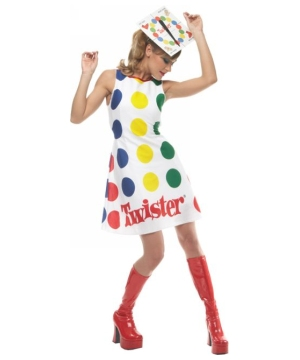 Sexy Twister Womens Costume