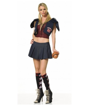 Tackle Football Womens Costume