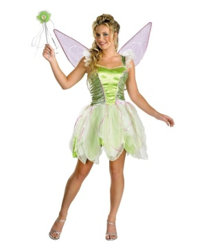 Tinkerbell Disney Movie Women Costume deluxe