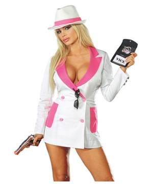 Vicky Vice Costume - Adult Costume