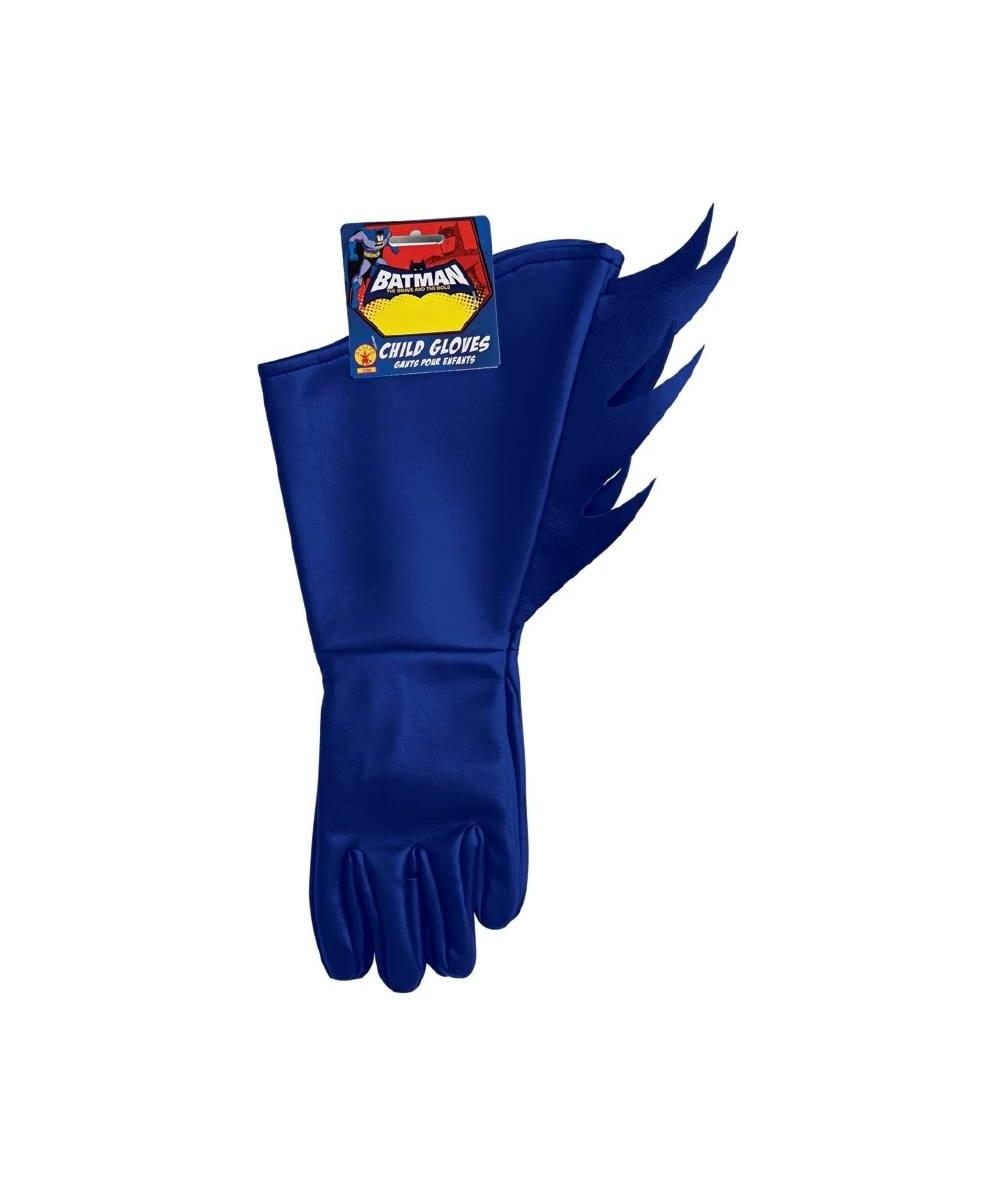 sc 1 st  Wonder Costumes & Kids Batman the Brave and Bold Gloves - Boys Costume Gloves