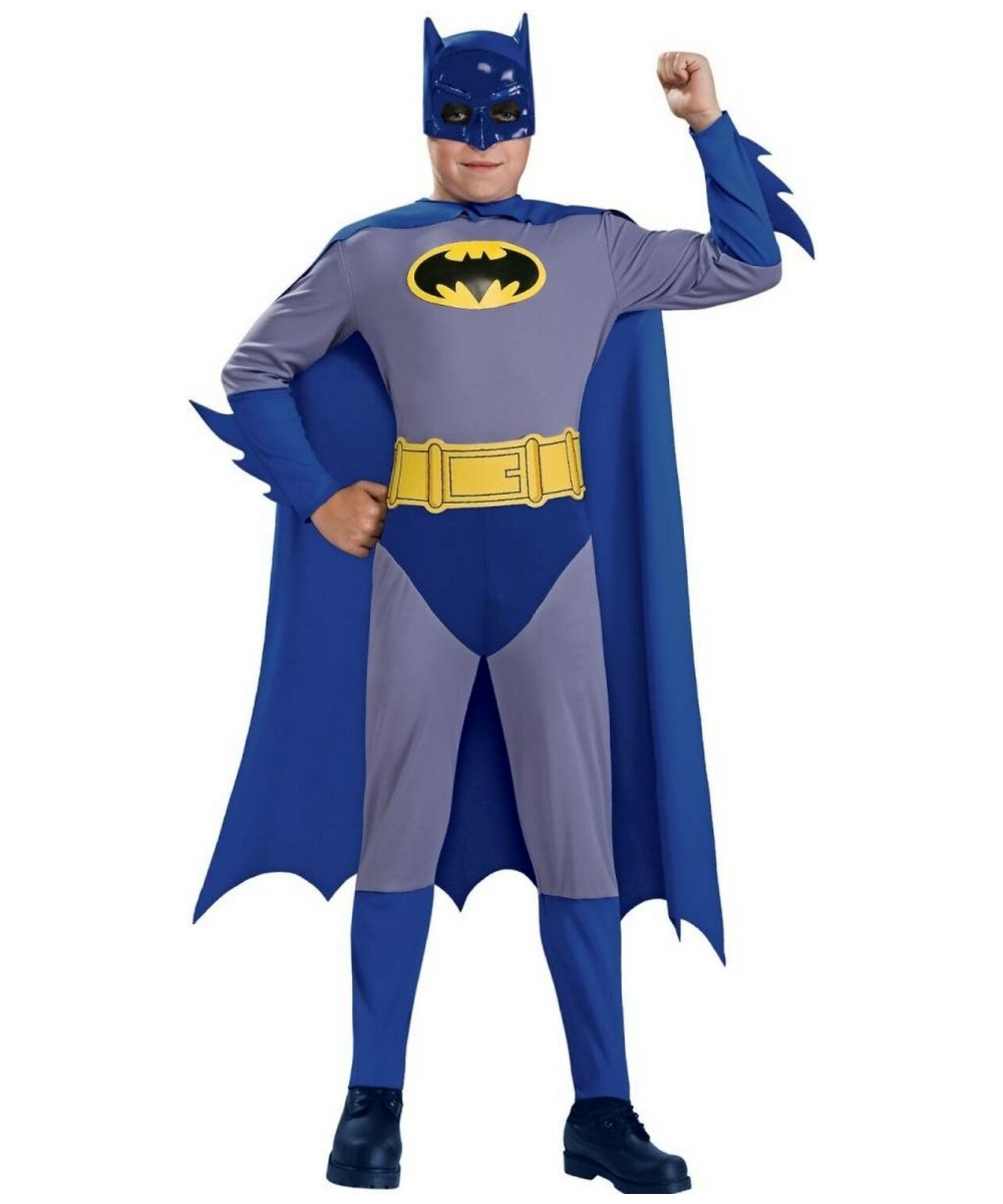 sc 1 st  Wonder Costumes & Batman Brave Bold Kids Costume - Boy Superhero Costumes