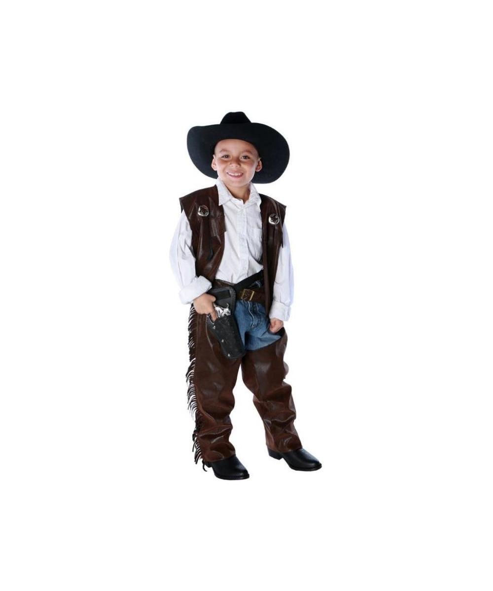 Chaps Cowboy Kids Costume  sc 1 st  Wonder Costumes & Cowboy Costume - Western Outfit u0026 Halloween Costumes