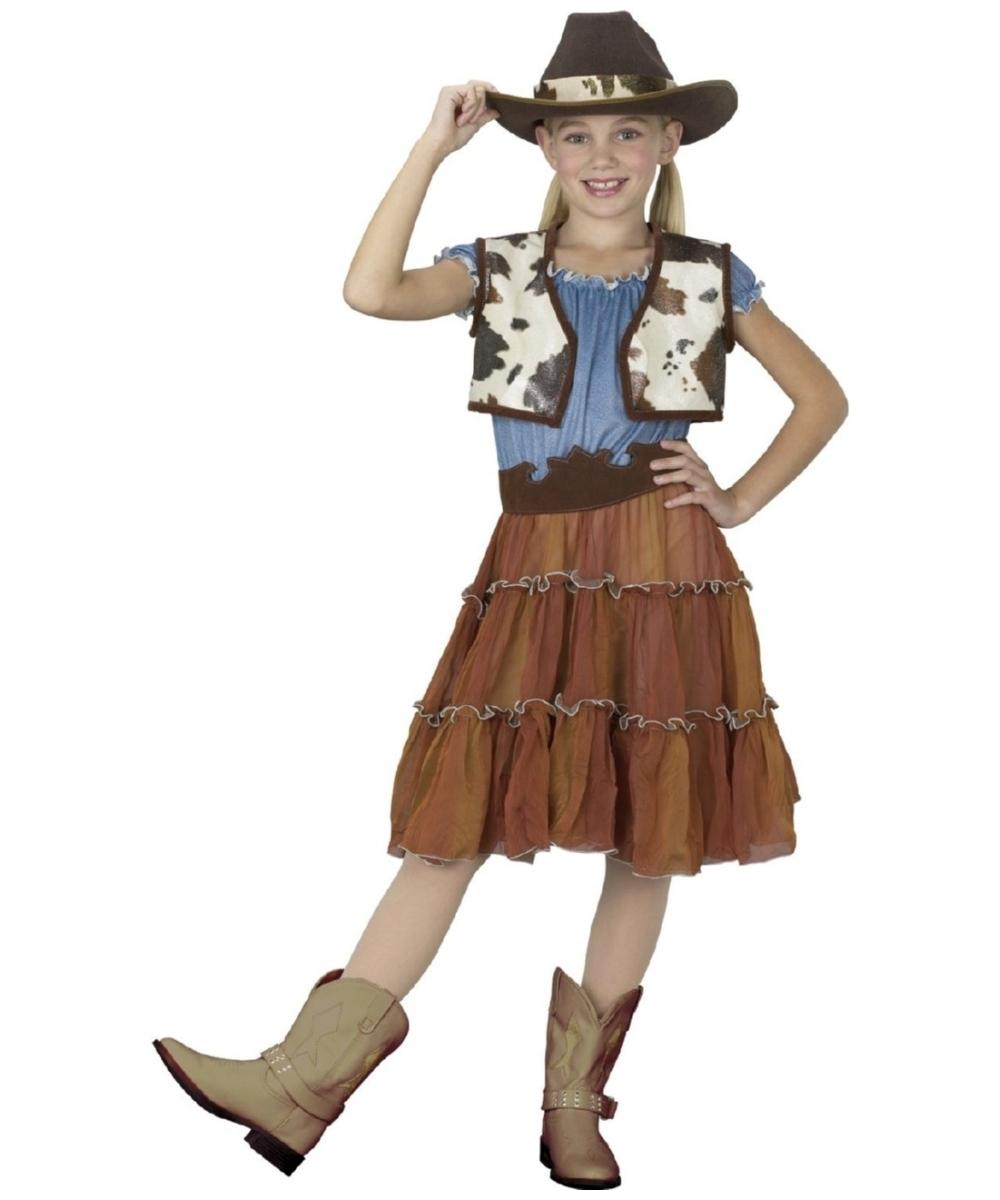 Cowgirl Kids Halloween Costume