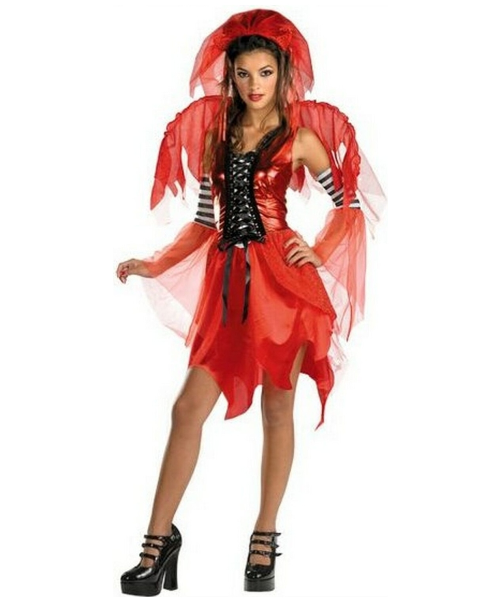 Devil Fairy Teen Costume  sc 1 st  Wonder Costumes : teen fairy costumes  - Germanpascual.Com
