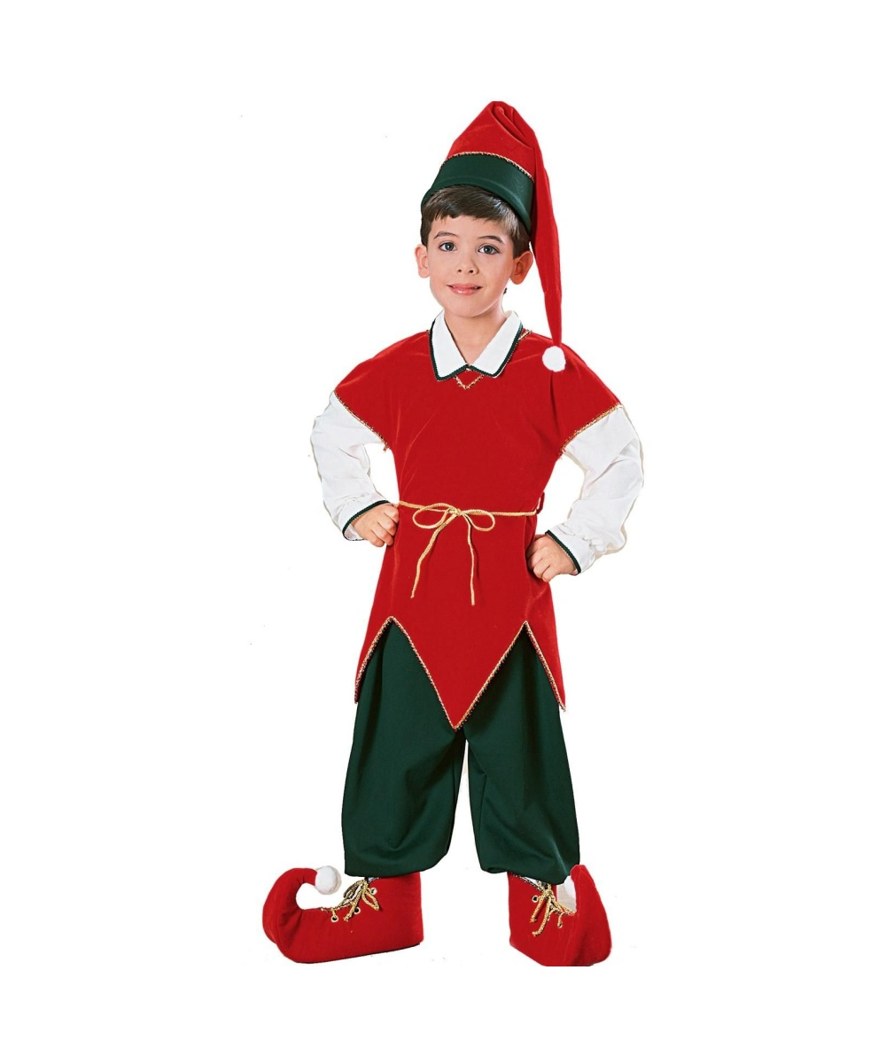 sc 1 st  Wonder Costumes & Elf Kids Santa Costume - Boys Costumes