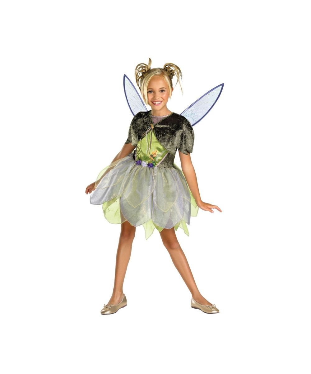61a9f7cbb Costumes Tinkerbell & Sequin Deluxe Tinkerbell Adult Costume Sc 1 St ...